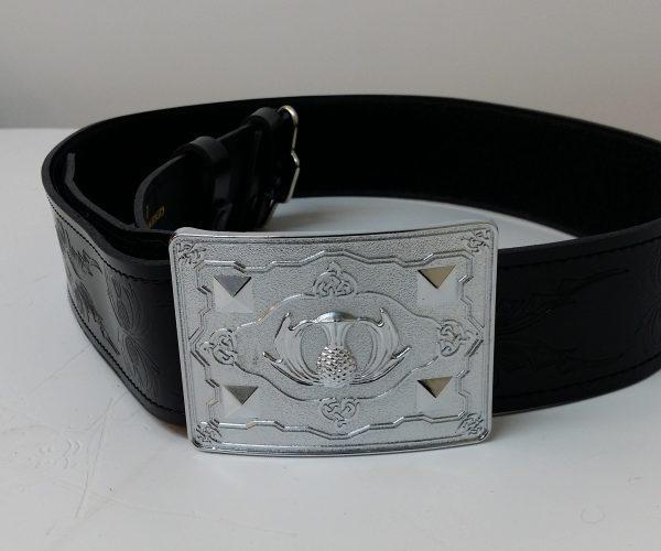 Special offer Set Thistle Belt & Buckle