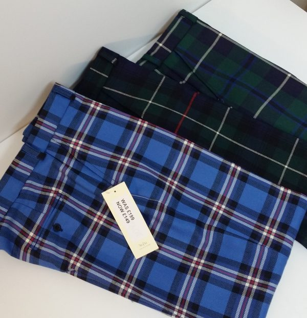 Made To Measure Tartan Trousers. Hundreds Of Tartans Available
