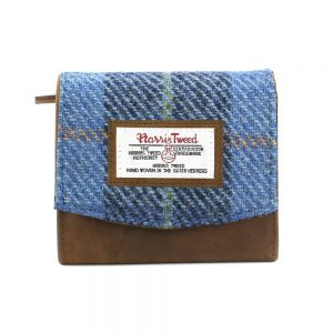 Harris Tweed Castlebay Blue Small Purse