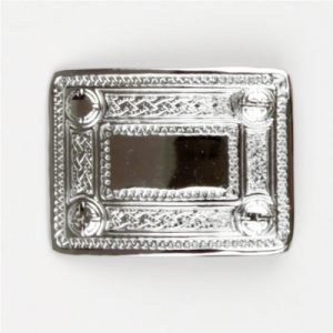 Celtic Chrome Buckle