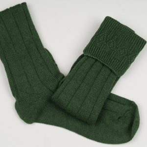 Chieftain Green Kilt Socks All Sizes