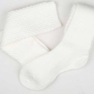 Pipers Socks White All Sizes