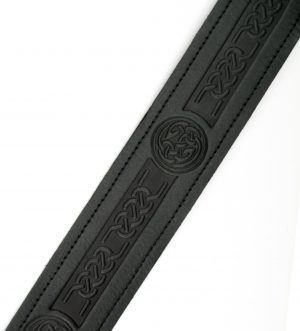 Celtic / Thistle Embossed Belt