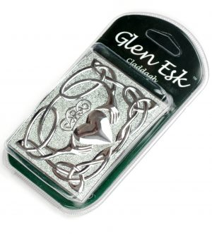 Claddagh Chrome Buckle