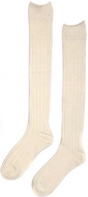 Chieftain Ecru Kilt Socks All Sizes