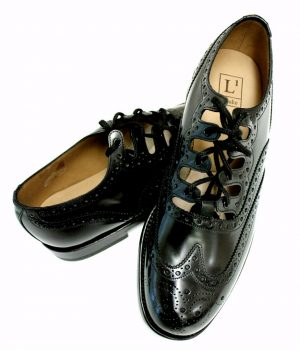 Loake Adult Ghillie Brogue Kilt Shoes