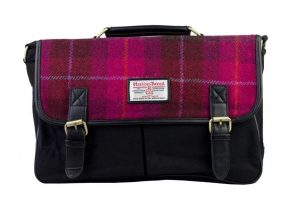 Harris Tweed Satchel Bag