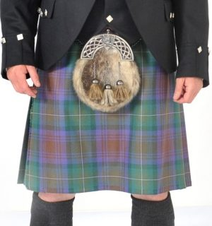8 Yard Isle Of Skye Wool Kilt