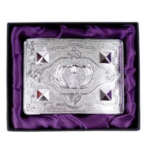 Scottish Thistle Buckle
