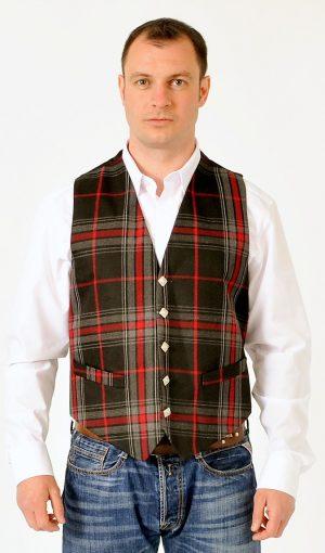 Spirit Of Bruce Tartan Waistcoat