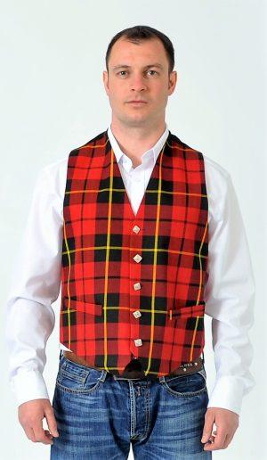 Wallace Tartan Waistcoat