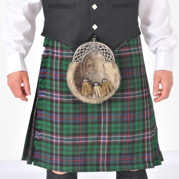 8 Yard Scottish National Ex Hire Kilt