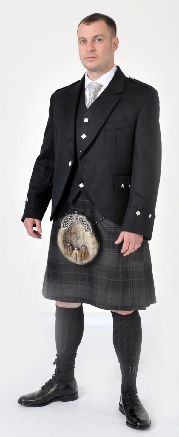 8 Yard Grey Highlander full Package offer