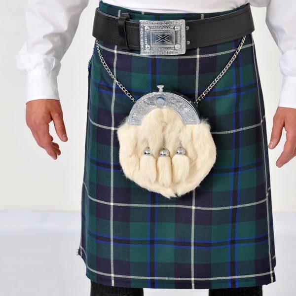 Chieftain Dress Kilt Set: Kilt ,Sporran, Belt & Buckle