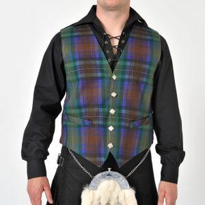 Isle of Skye Tartan Waistcoat